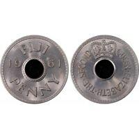 Fiji 1961 Penny - PCGS MS65 GEM UNC