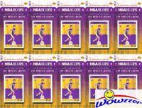 (10) 2017/18 Panini Hoops Los Angeles Lakers Team Set -Lonzo Ball, Kyle Kuzma RC