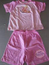 Schlafanzug Gr. 104 Barbie Fairytopia Mattel, mit Motiv, Pink/Rosa, schön
