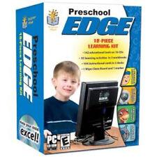 Preschool Edge  10 CDs + 3 Workbooks + Instructional Cards   New in Box