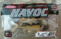 "PACKAGE OF 2 BERKLEY HAVOC - 4"" SICK FISH - TENNESSEE SHAD - BASS - WALLEYE"