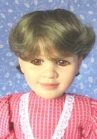 Monique BEBE Lt. Brown Full Cap Doll Wig SZ 14-15  Short Bob, Girl, Boy, Unisex