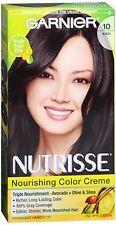 Garnier Nutrisse Haircolor - 10 Black Licorice (Black) 1 Each (Pack of 3)