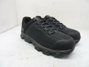 Timberland Pro Men's Powertrain Sport Alloy-Toe Work Shoes A176A Black Size 10M