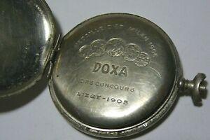 WWI Rare Pocket Watch Doxa Mechanism 51 mm. Swiss 1258609
