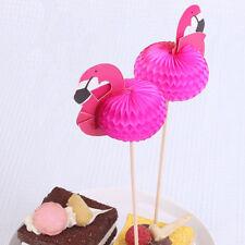 10/50/100Pcs Flamingo Plastic Picks Summer Party Cocktail Drinks Stirrers Sticks