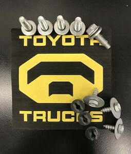 Toyota Tundra  Factory Metal Skid Plate Bolts 2007-2021