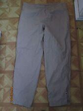 khaki Helly Hansen Helly-Tech Waterproof Ski Snowboard Pants Leg Zipper L large