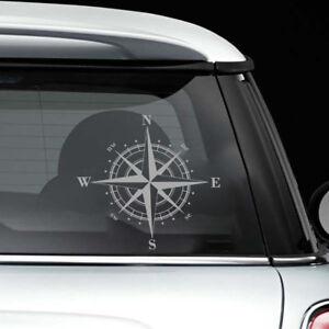 1x Universal Waterproof Art Design NSWE Compass Car Sticker PET Decal Hot Sale