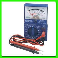 Draper Análogo Multi Meter [37317] Medidor de voltios/Amp Probador de múltiples