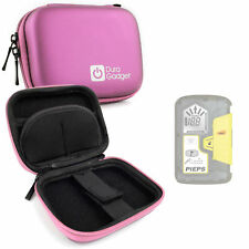 Hard Shell Pink EVA Case for Pieps DSP Pro, BCA Tracker 3 Avalanche Transceiver