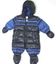 DIESEL Infant Baby Boy Hooded Snowsuit Navy Blue MSRP $ 120.00