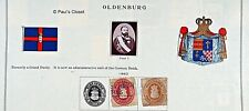 OLDENBURG-GRAND DUCHY P/O GERMANY SC 18 (USED) AND SC 20 (?) - RARE - FINE