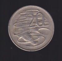 1969 Australia 20 Cent Coin  I-366