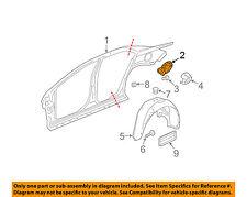 Chevrolet GM OEM 08-12 Malibu Fuel Door-Gas Cap Hatch 15824769