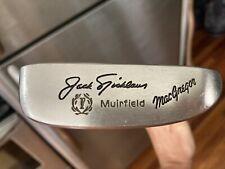 "MacGregor Jack Nicklaus Muirfield Blade Putter 35.5"" Vintage Collectible Golf"