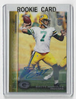 2015 PACKERS Brett Hundley signed ROOKIE card AUTO Topps #134 Autographed 83/99