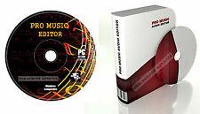 Studio Musik mp3 Audio Sound Bearbeitung aufnehmen Software für PC und Mac