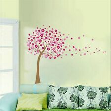 Removable Large Cherry Blossom Tree Flowers Wall Sticker Art Mural Decal Decor