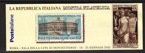 "M627 REPUBBLICA – Libretto ""Montecitorio"", n. 25. Cat. €. 120 – MNH**"