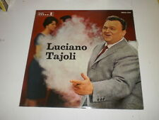 LUCIANO TAJOLI - LP 1963 ODEON RECORDS ITALY - MINT/VG++ - TANGO/VALZER/NAPOLI -