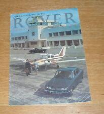 ** Rover Brochure 1966 2000 & 2000 TC 3.0 Litre Mk3 Saloon Mk2 Saloon & Coupe **