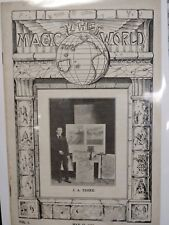 J. A. Troke Issue 1919 The Magic World Periodical