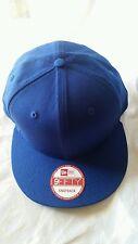 New Era 9Fifty Flat Snapback Hat Cap Blank { ROYAL BLUE } NE 9FIFTY   { 1X }