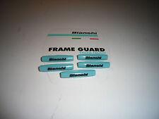 BIANCHI FRAME CABLE PROTECTION GUARDS Celeste/Black