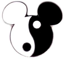 Disney pins Mickey Head - Yin Yang (Corrected) Pin is 10 years old