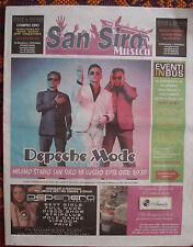 DEPECHE MODE Newspaper San Siro Concert, Milan (I) July 2013