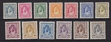 Jordan transjordan 1927-29 MLH MENTA SERIE COMPLETA Definitives 13 valori Amir sg159-71