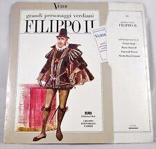 *-Vinyl-Schallplatte- VERDI - Grandi PERSONAGGI verdiani FILIPPO II - neu & OVP