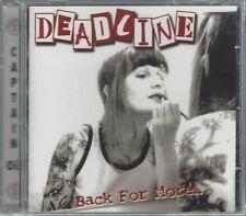 DEADLINE - BACK FOR MORE - (still sealed cd) - AHOY CD 223