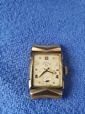 Lord Elgin solid 14k gold watch w extra action