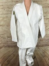 Albino and Preto Classic gi size A3 whiteshoyoroll jiu jitsu kimono A&P EUC