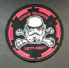 Official Star Wars Rogue Trooper 1977-2007 Lucasfilm Iron On Patch