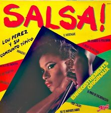 LOU PEREZ y su CONJUNTO TIPICO juaniquita/no me digas na LP 1981 ATOLL EX++
