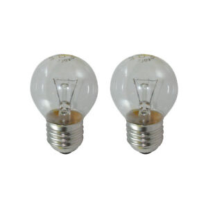 Replacement 40W Oven Lamp ES Bulb 300° E27: Qty x 2