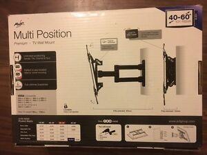 """AVF Premium Multi Position Swivel Tilt Extend Pan TV Mount  40 - 60""""  60KG"""