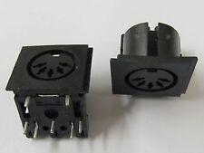 4 Stück - DIN-Einbaubuchse 5 polig 180° für Platinenmontage 90° print Jack 4pcs