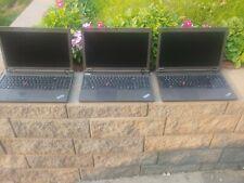 "Lot of 3 Lenovo ThinkPad T540p Laptops Core i5 15.6"" Windows 10 Pro"