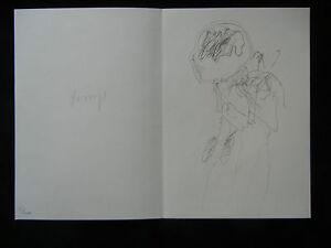 Joseph Beuys Codices Madrid Lithographie signiert + nummeriert 35/100