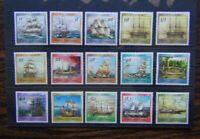 Papua New Guinea 1987 Ships set to K3 MM SG543 - SG557