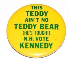 1980 TED KENNEDY NEW HAMPSHIRE campaign pin pinback button political president