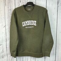 Vintage Tek Gear CAMBRIDGE UNIVERSITY Sweatshirt | Size - M | Varsity Sweat Top