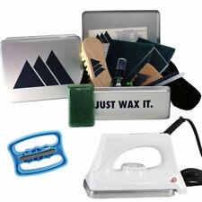 Ski Snowboard Tuning Universal Lime Wax Full Tuning Kit Wax Edge & Iron
