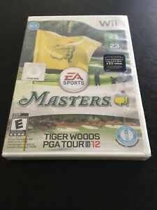 Tiger Woods PGA Tour 12: The Masters (Nintendo Wii, 2011)BRAND NEWFree Shipping