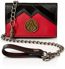 Assassins Creed Syndicate Logo Video Game Retro Trifold Chain Wallet MW4NMNASY