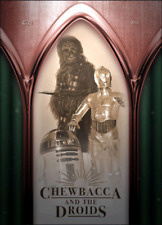 2019 SPACE OPERA BRONZE BASE CHEWBACCA AND THE DROIDS Topps Star Wars Digital